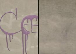 Vlhčené obrúsky Graffiti SafeWipes v akcii - pred a po čistení tagov