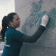 Čištění graffiti ubrouskem