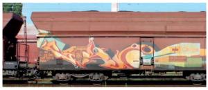 Ideální pro použití na jakékoliv povrchy vlaků.