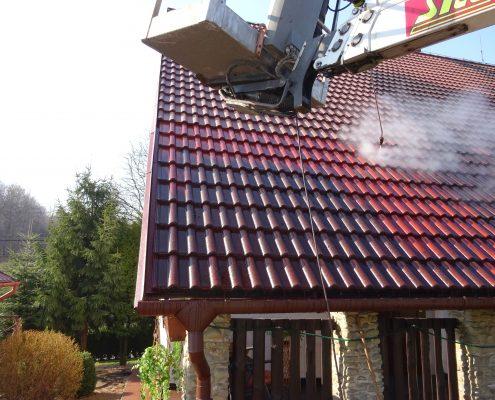Vysokotlaké mytí střech