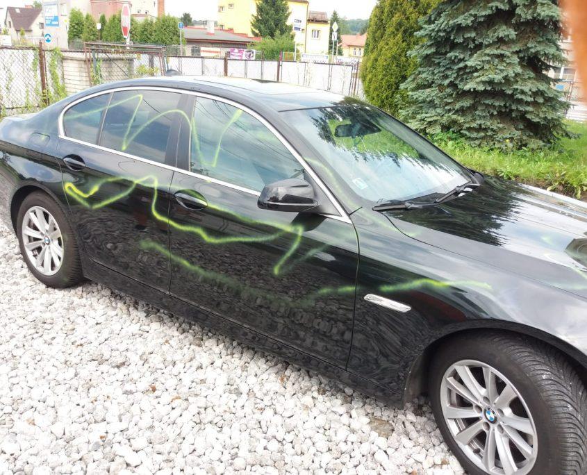Posprejované BMW