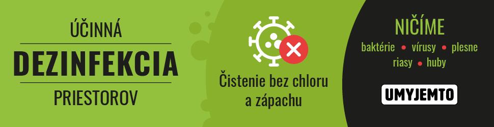 Dostupná metóda dezinfekcie, ktorá účinne vydezinfikuje kancelárie, školy, športoviská, štadióny alebo bytový dom.